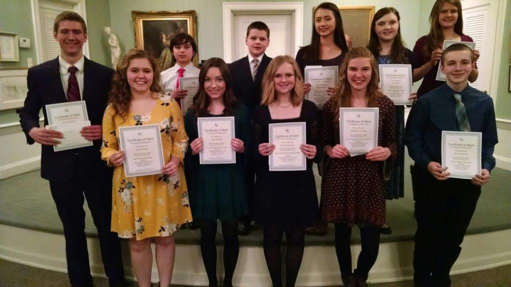 the scholarship winners of 2017