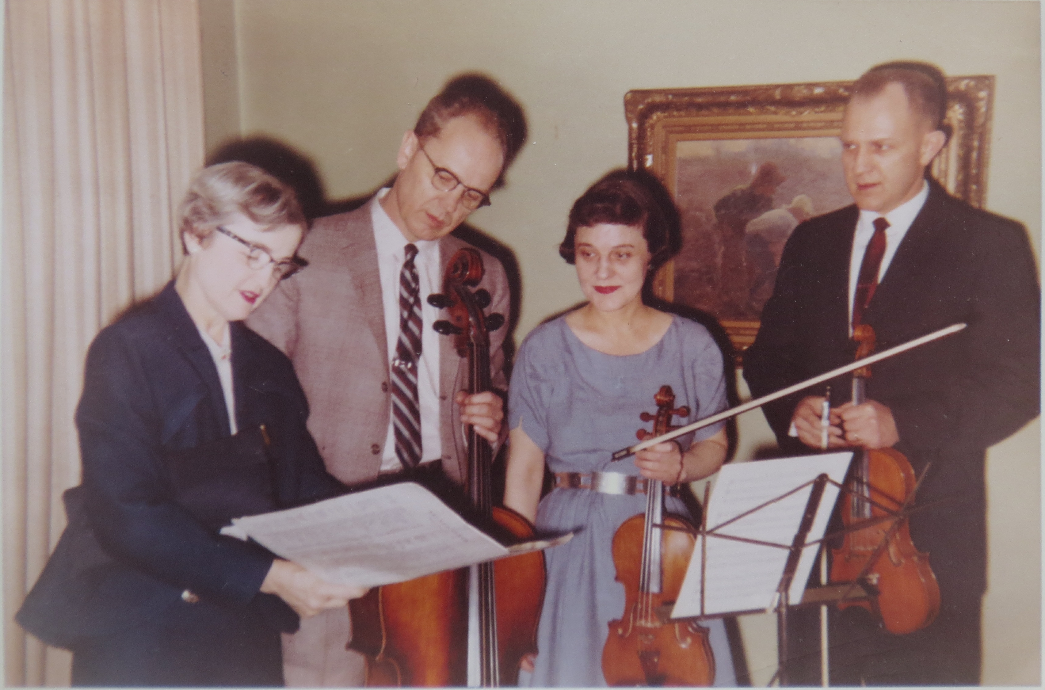 a 1959 string quartet